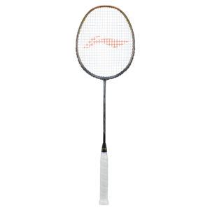 Li Ning 3D CALIBAR 900 Badminton Racket ( Gold/Grey )