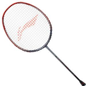 Li Ning 3D Calibar 900 B Boost Unstrung Badminton Racket (Red/Grey)