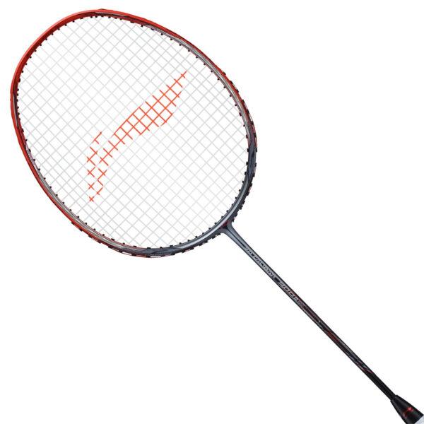 li ning 3d calibar 900b boost badminton racket grey/red