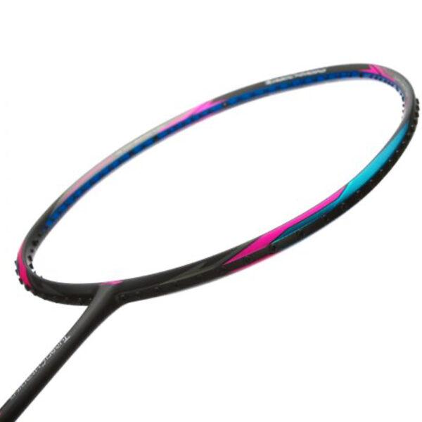 li ning turbocharging n9 ii black/blue badminton racket
