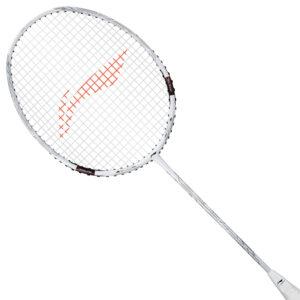 Li Ning Tectonic 7D Badminton Racket Unstrung (White)