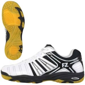 Buy FZ Forza Leander badminton shoes men at best price (white)