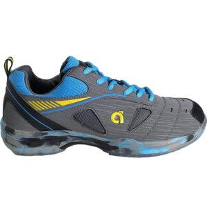 Buy Apacs Cushion Power SP 608 F III (Grey/Blue) Badminton Shoes