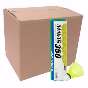 Buy Yonex Mavis 350 Nylon Shuttlecock (Green Cap) pack of 10 tubes