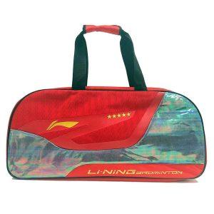 Li Ning ABDN184 Red Badminton Kitbag