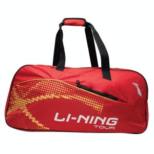 Li Ning ABDP 392-3 Double Compartment Badminton Kitbag (Red)