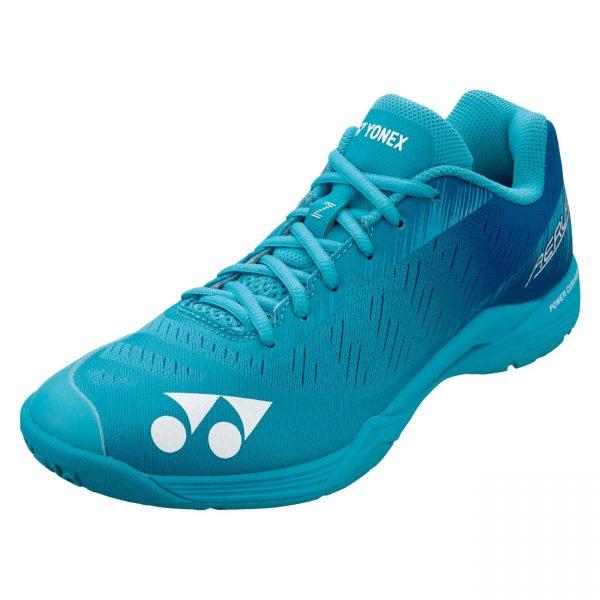 yonex aerus z mint blue badminton shoe