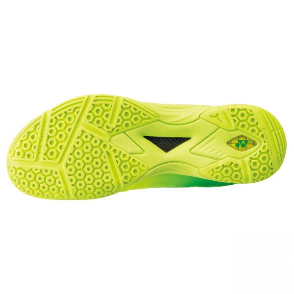 yonex aerus z bright yellow badminton shoes