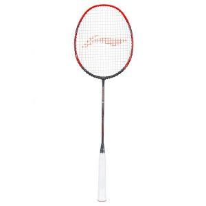 Buy Li Ning 3D CALIBAR X Boost (Dark Grey/Red) Badminton Racket Best price
