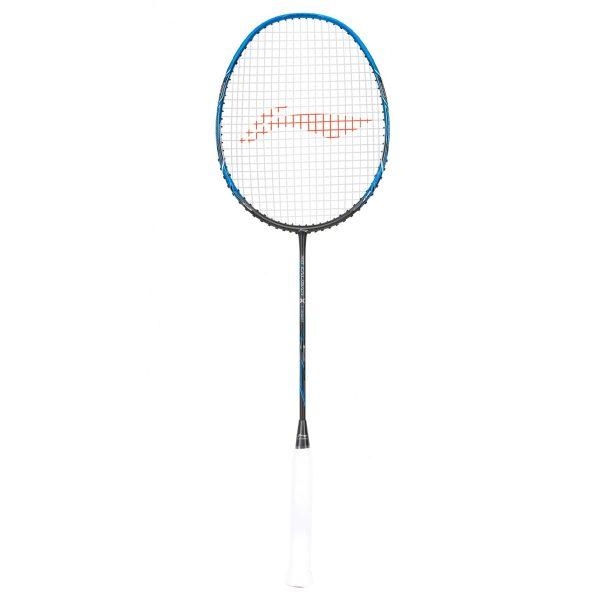 li ning 3d calibar x combat charcoal blue badminton racket