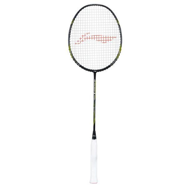 li ning 3d calibar x combat black lime badminton racket