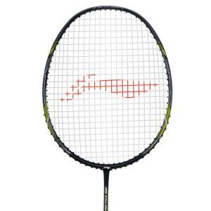 Buy Li Ning 3D CALIBAR X Combat (Black/Lime) Badminton Racket Best price